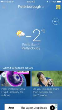 Peterborough weather